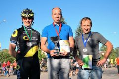 Awarding after bicycle tour in Räpina in summer 2019